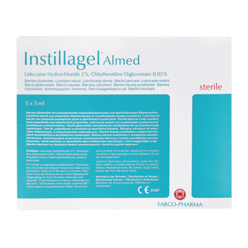 Instillagel® Almed Einmalspritzen